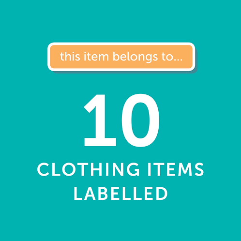 10 Items Labelled