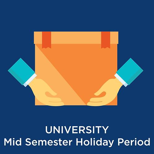 University Mid Semester Storage