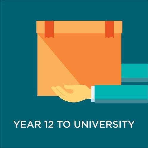 Year 12 to University Storage