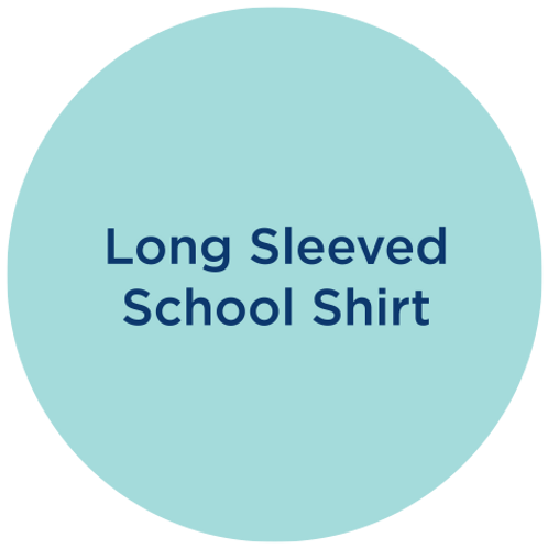 Long sleeved school shirt