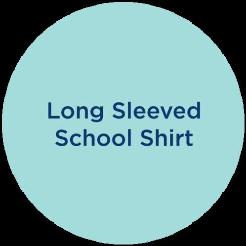 Long sleeved school shirt