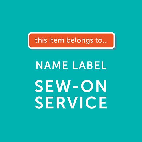 Label Sew-On Service