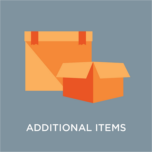 Additional Items for Storage