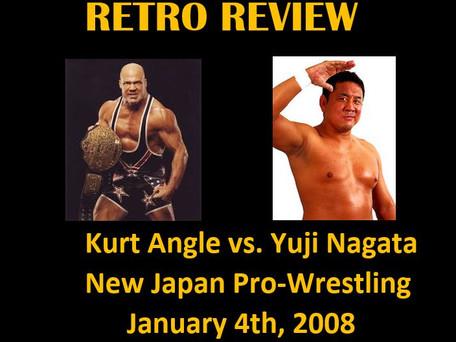 Retro Review: Kurt Angle vs. Yuji Nagata