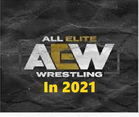 AEW in 2021