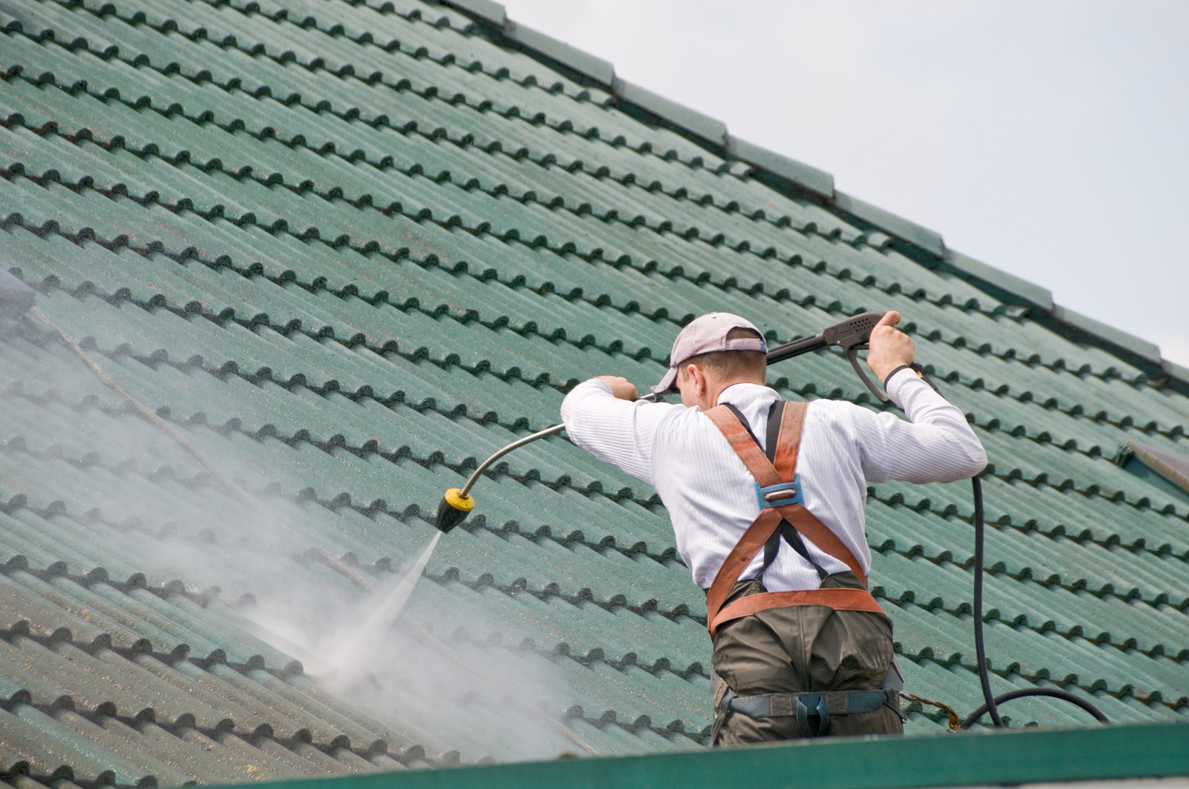 Nettoyage de toitures