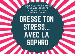 ATELIER GESTION DU STRESS pour adolescents - le 09 avril (en collaboration avec le service jeunesse