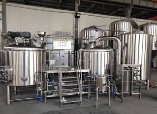 TAKE A CLOSE LOOK AT THE NEWLY PRODUCED 10BBL BREWING SYSTEM!