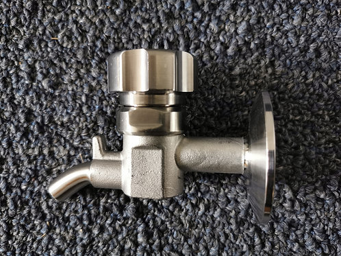 Knob-Style Sample Valves  | Tri Clamp 1.5""