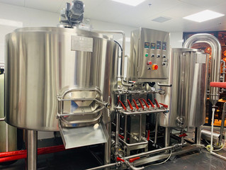10BBL Steam Heating | Skid Mounted Brewhouse