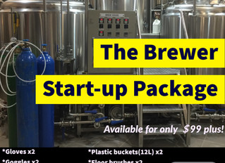 THE BREWER START-UP PACKAGE IS COMING!