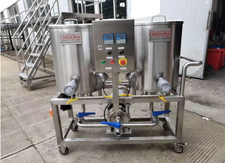 CIP Cart & Two heads Keg Washer IN STOCK!