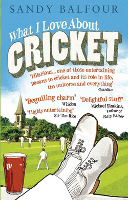 love about cricket
