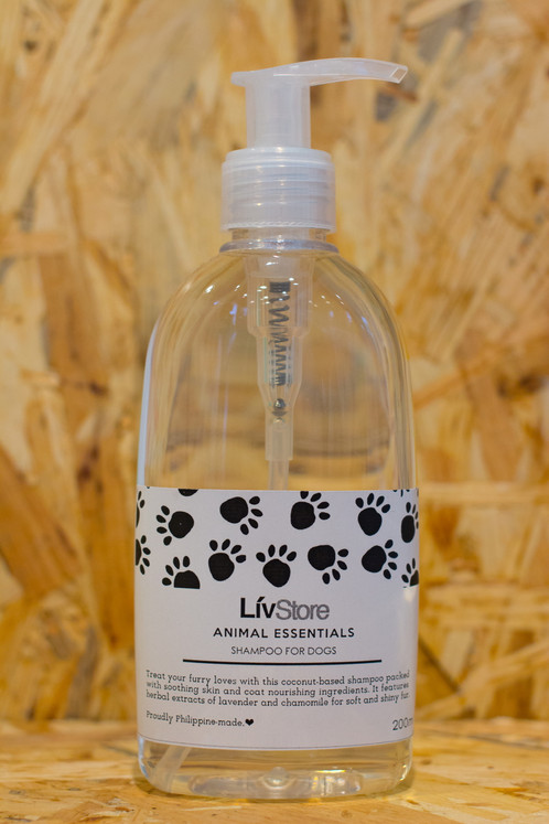 All-Natural Dog Shampoo