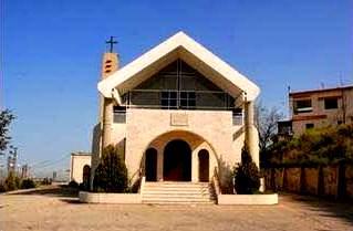 A church in Daher's Village