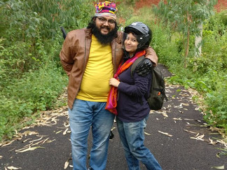 Ankita and Chetan, Bangalore, India