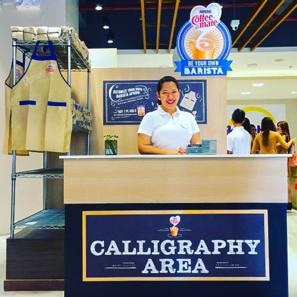 On-spot calligraphy event