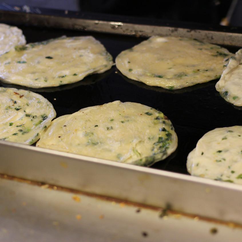 Onion Pancakes