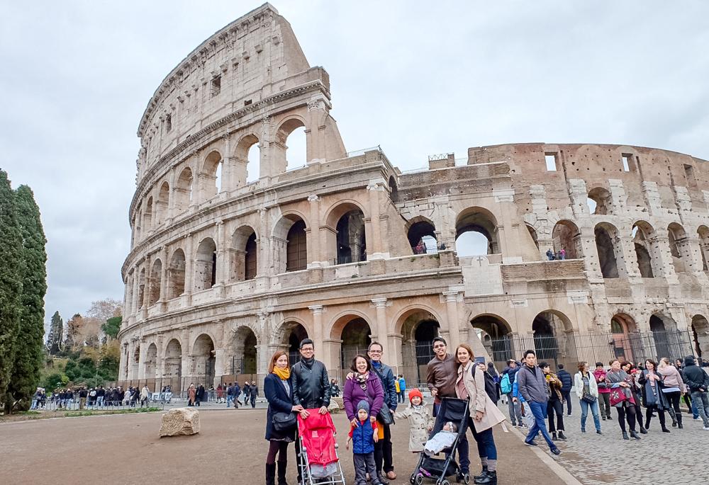 The Tito in Rome-Colosseum