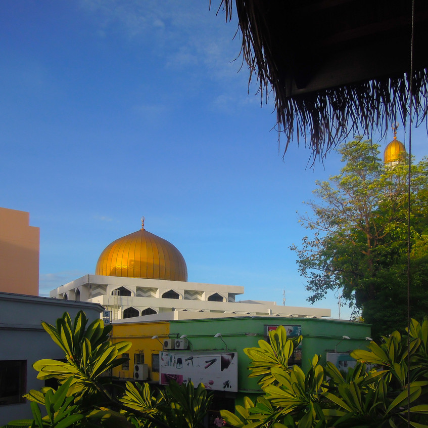 Overlooking the Grand Friday Mosque