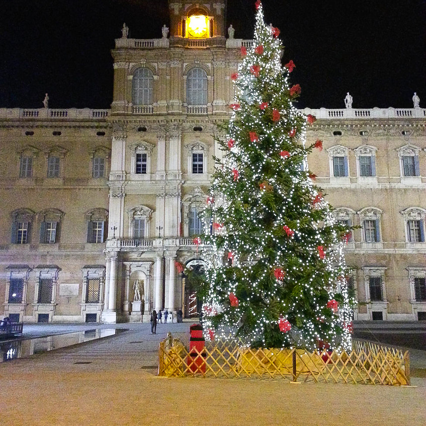Christmas season in Palazzo Ducale