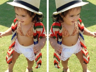 Mishka the little fashionista