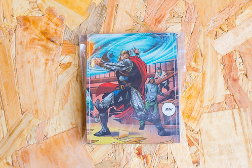 Wallet Comics Laminated 4