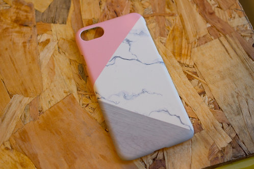 Iphone 6 Case Geometric Pink