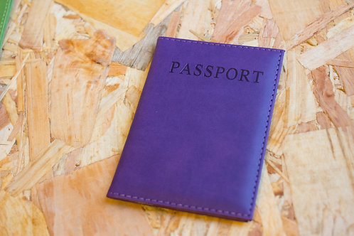 Passport Holder Purple