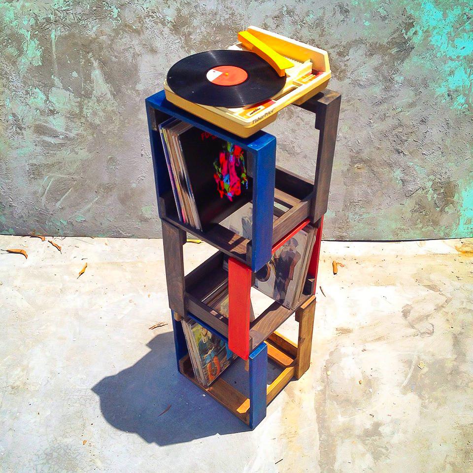 Stackable Vinyl Crates