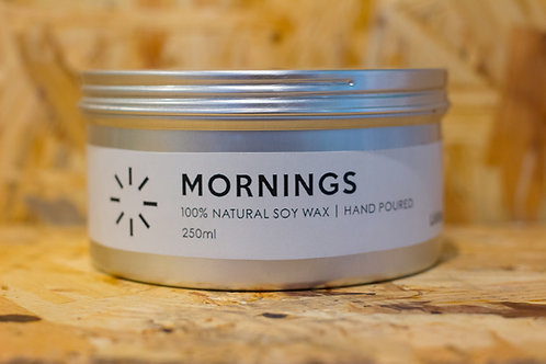 Soy Candle Mornings 250ml