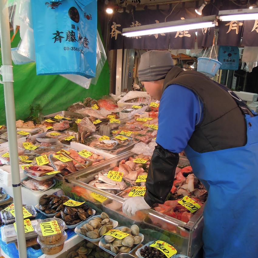 All kinds of seafood