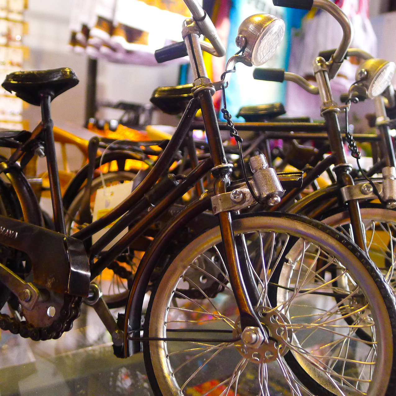 Cute bicycle souvenirs