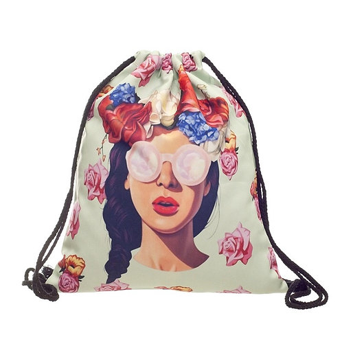 Drawstring Bag Girl
