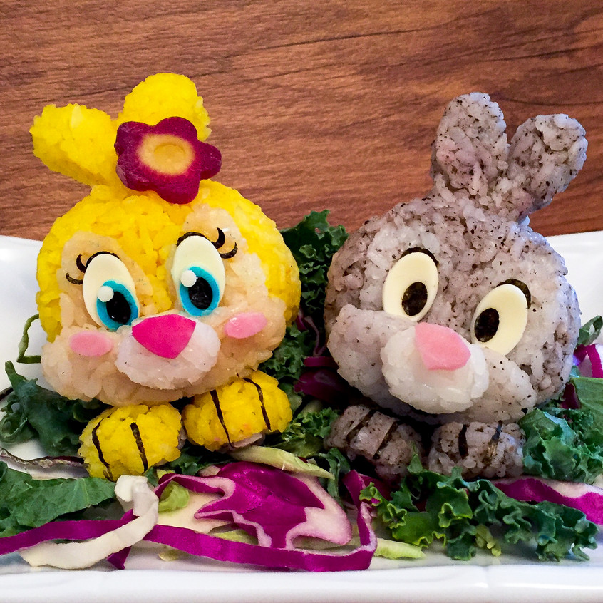 Miss Bunny and Thumper