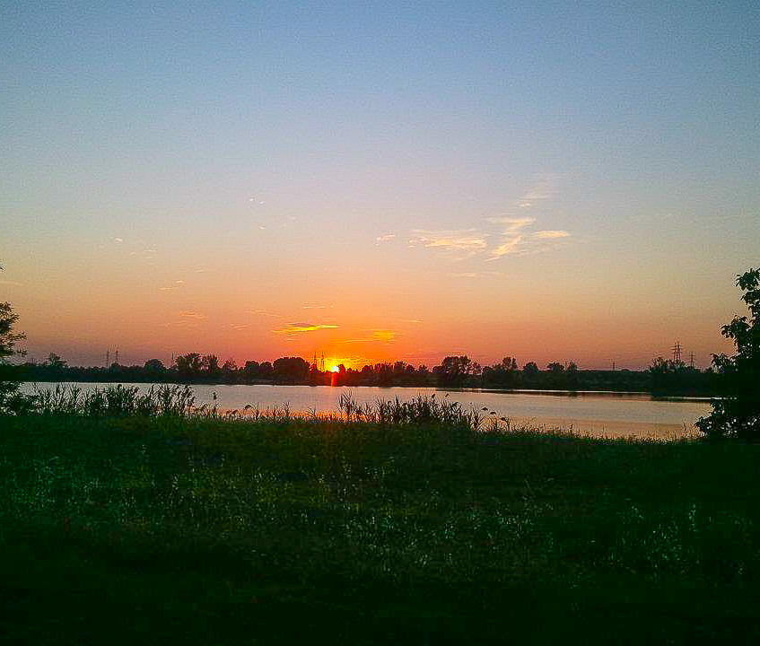 Sunset in Modena