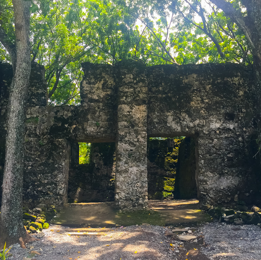 Old Guiob Church Ruins