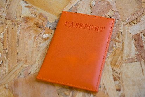Passport Holder Orange