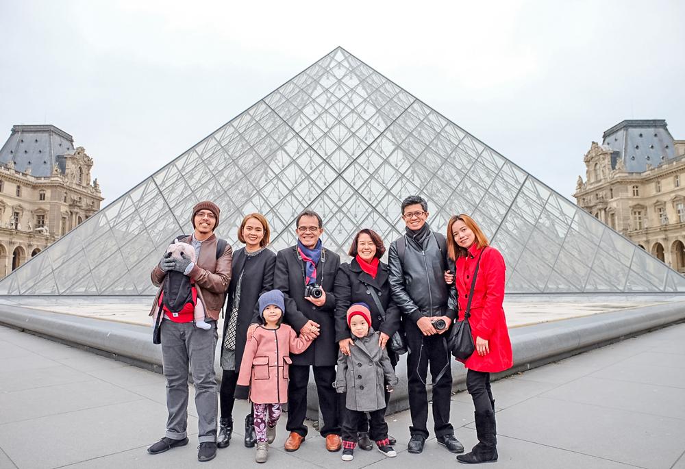 The Tito in Paris-Louvre