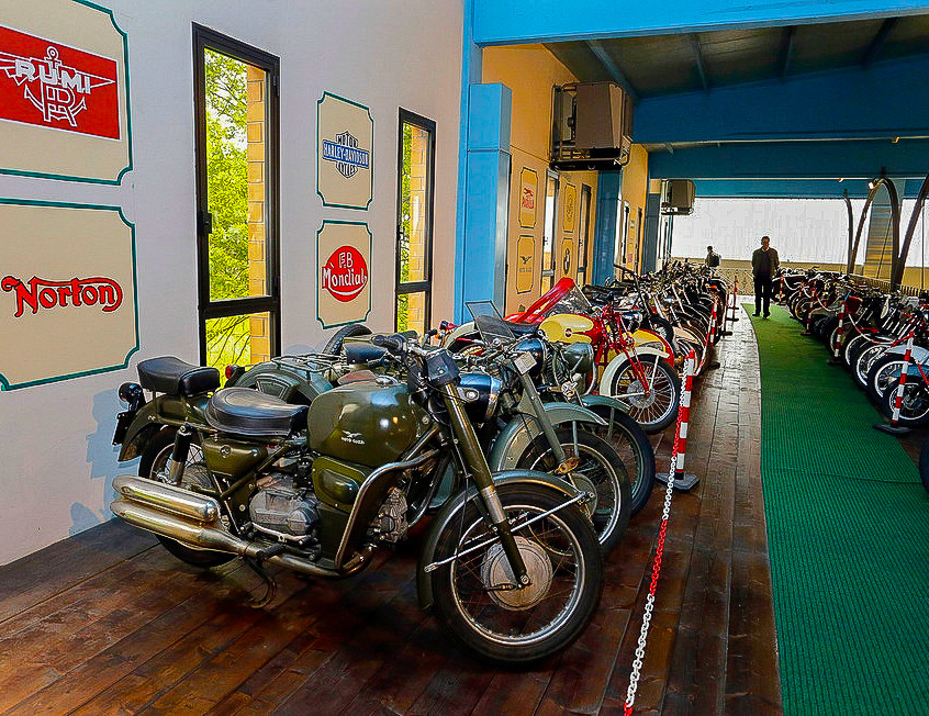 Old motorbikes collection