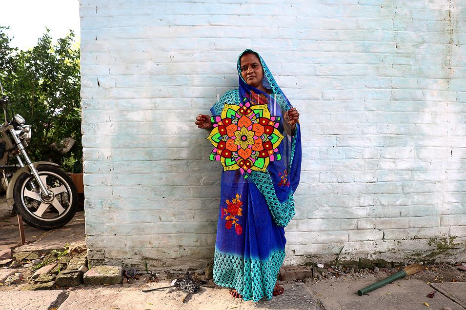 MANDALA - DEHLI, ÍNDIA 2016