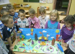 """Совместная работа педагогов, родителей и детей на тему """"Королев-город будущего""""."""