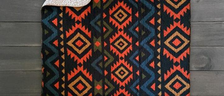 Sherpa Fleece Waterproof Blanket