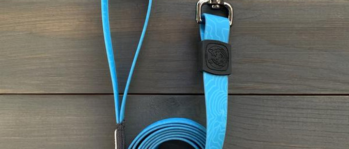 TEAL WATERPROOF LEASH - WILDERDOG