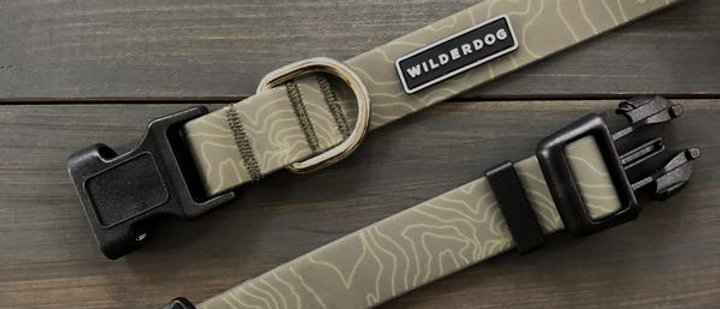Olive Waterproof Collar - WilderDog