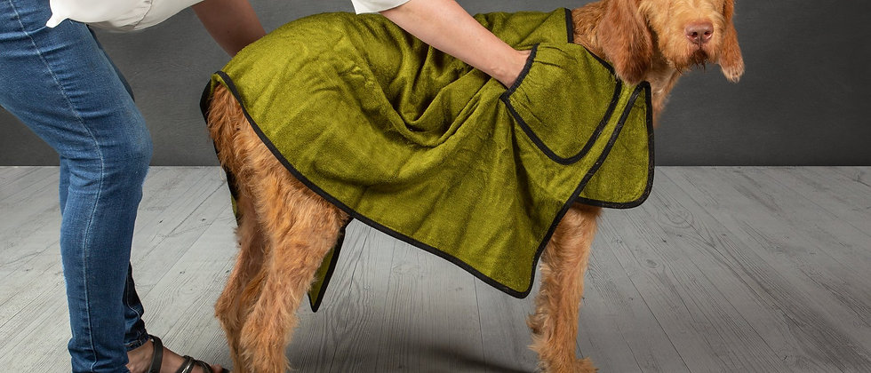 Bamboo Dog Drying Towel