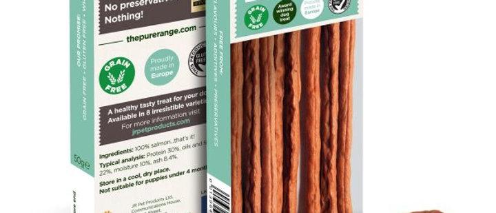 Pure Salmon Meat Sticks 50g