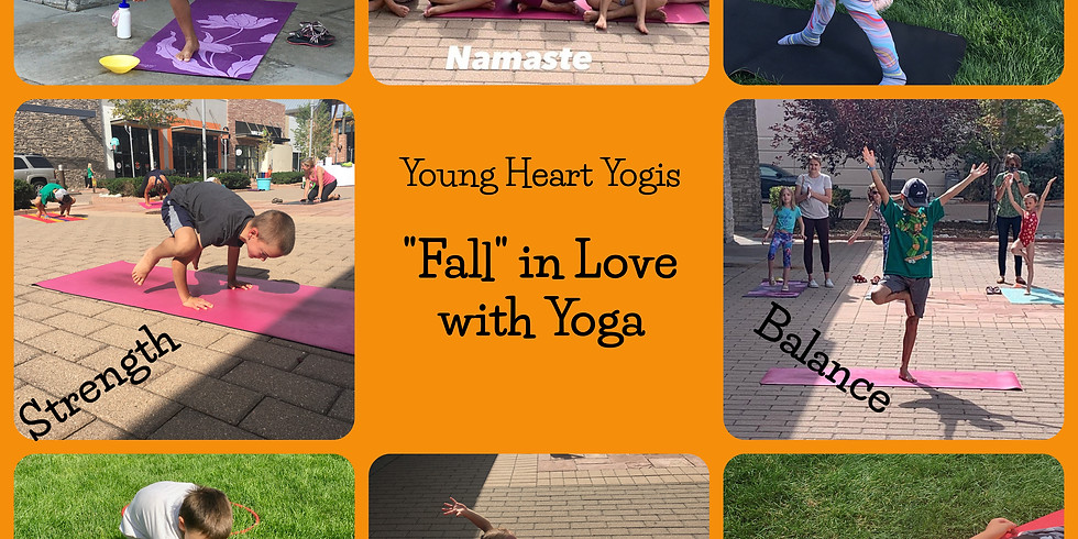 """""""Fall"""" in Love with Yoga (3 sessions left)"""
