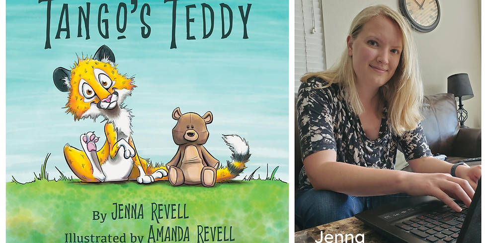 Preschool Story Time Yoga~Tango's Teddy with author Jenna Revell - HR