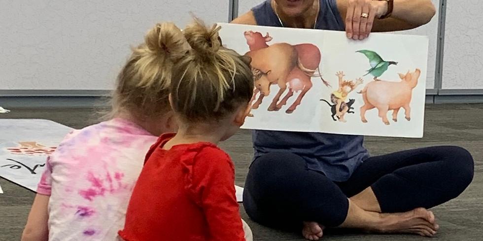 Sterling Ranch Preschool Story Time Yoga 10:00 am
